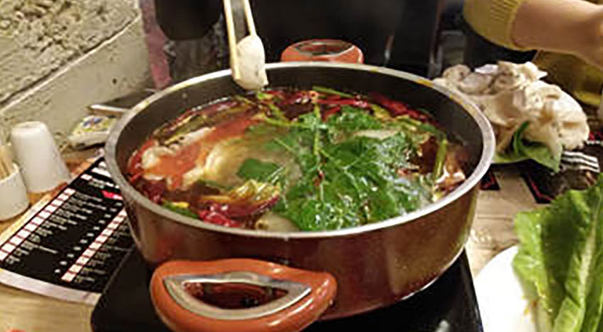 Spicy Hot Pot Experience in Asian House Restaurant in Kızılay