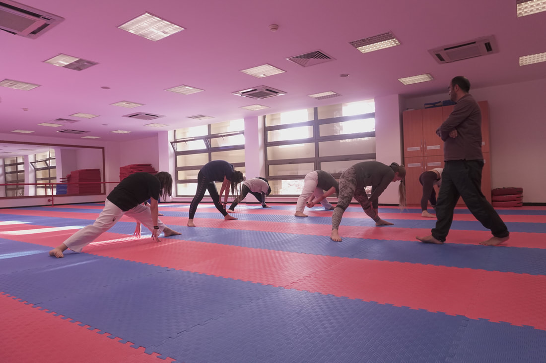 Taekwondocunun Esneme Rutini