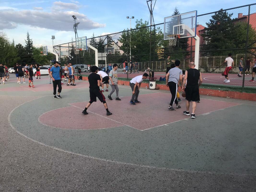 Ankara'da Sokak Basketbolunun Kalbi: Anıttepe Parkı